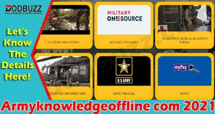 Armyknowledgeoffline 2021