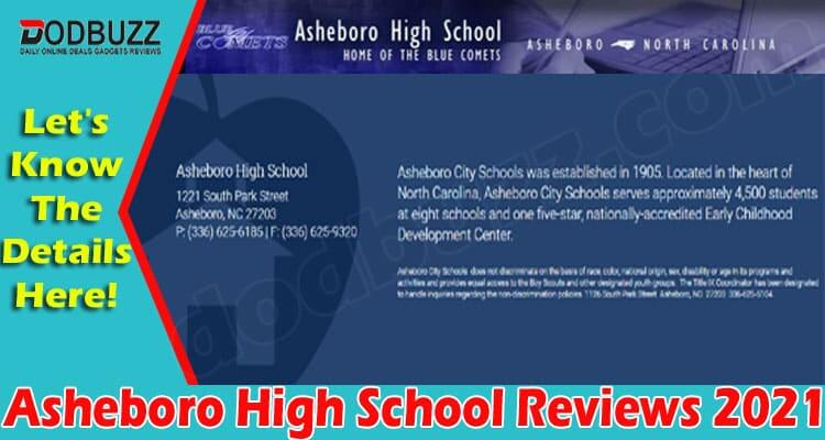 Asheboro High School Reviews (June) Check The Ratings!