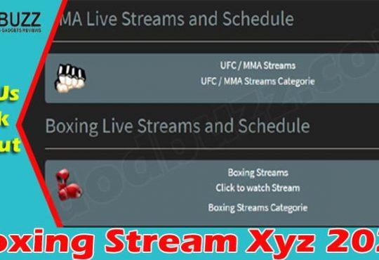 Boxing Stream Xyz (June 2021) Check An Update Here!