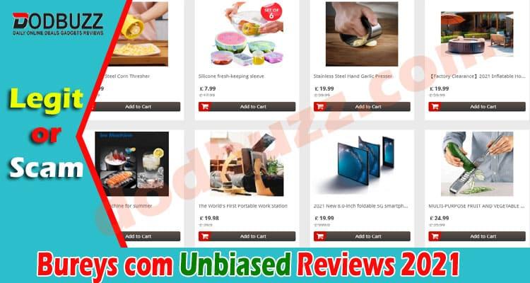 Bureys com Reviews {June 2021} Is It Scam or Legit Site