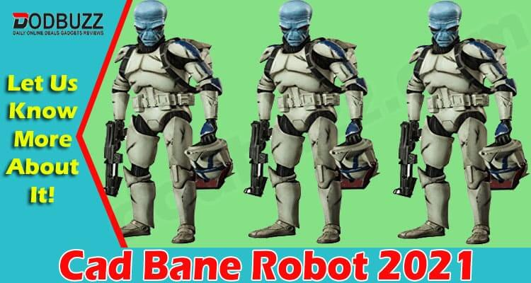Cad Bane Robot 2021