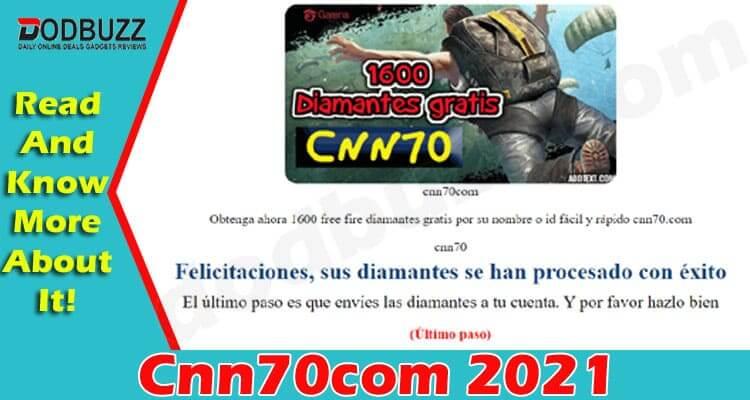 Cnn70com (June 2021) Have You Got Free Diamonds Here