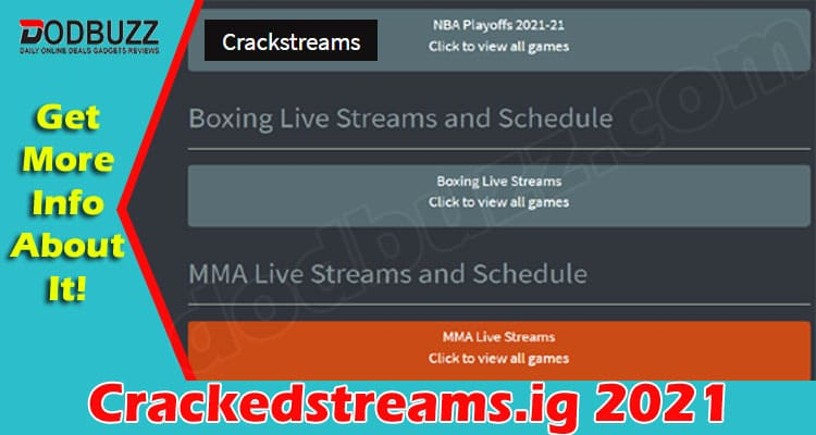 Crackedstreams.ig (June 2021) Read More About It Here!
