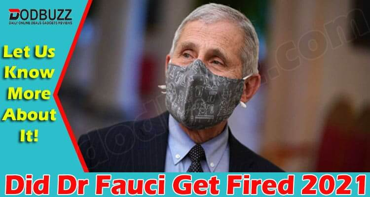 Did Dr Fauci Get Fired (June 2021) Read The Story Now!