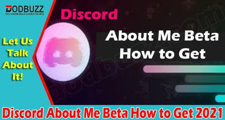 Discord About Me Beta How to Get (June) Know Details!
