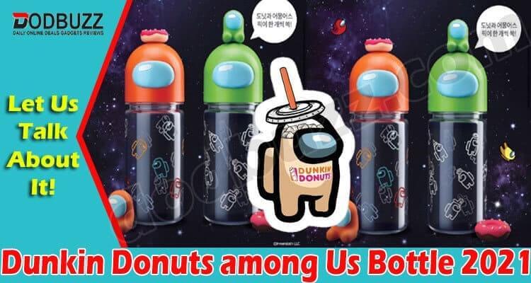Dunkin Donuts Among Us Bottle 2021