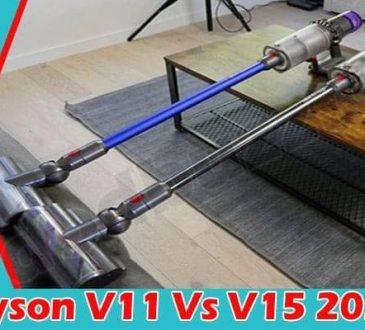 Dyson V11 Vs V15 2021