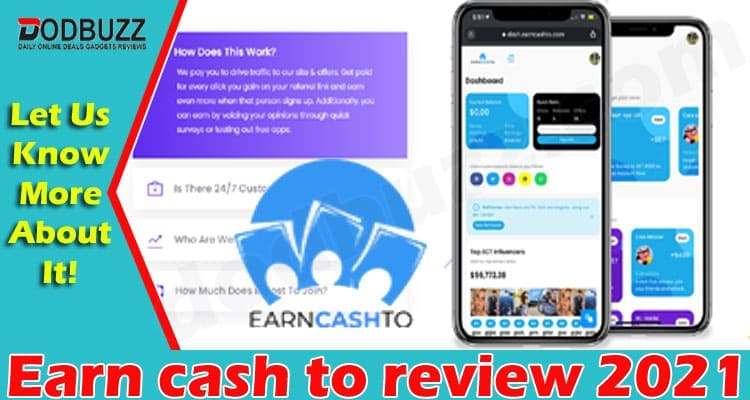 Earn cash to review 2021