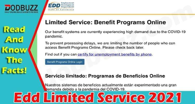 Edd Limited Service 2021