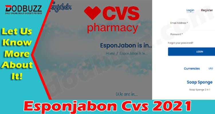 Esponjabon Cvs (June 2021) Curious to Know, Go Ahead!