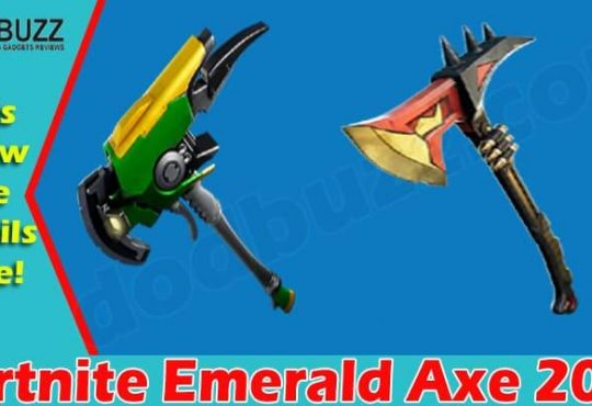 Fortnite Emerald Axe (June) Read About This Rare Tool!