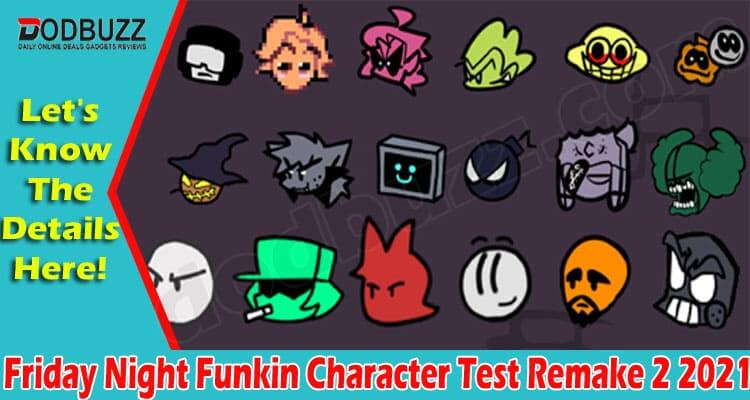 Friday Night Funkin Character Test Remake 2 2021.