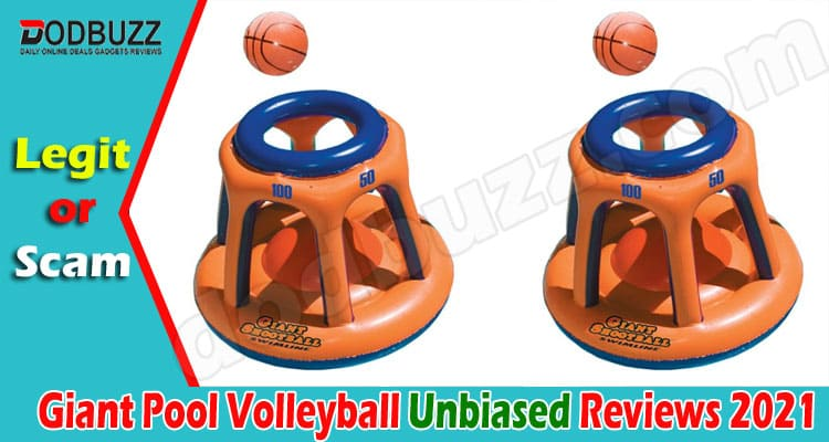 Giant Pool Volleyball Reviews (June 2021) Is This Legit