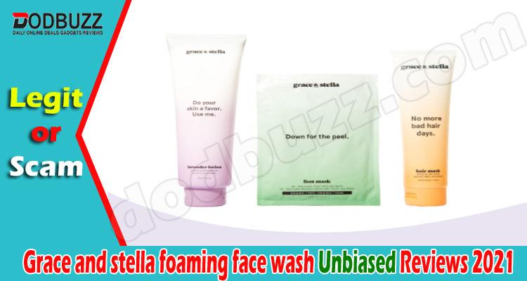 Grace and stella foaming face wash Reviews (June) Legit!