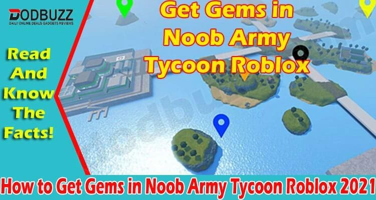 How to Get Gems in Noob Army Tycoon Roblox (June) Read!