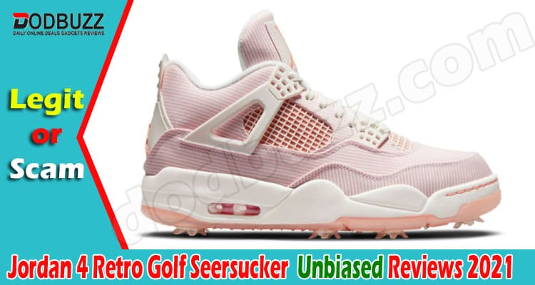 Jordan 4 Retro Golf Seersucker (June) Is Legit Or Scam!