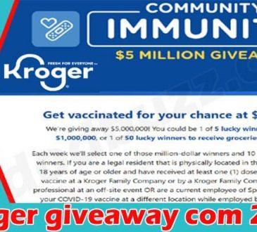 Kroger giveaway com {June} Read All Details Inside!