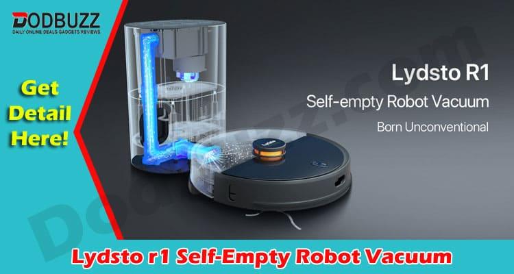 Lydsto r1 Self-Empty Robot Vacuum 2021
