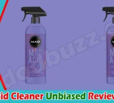 Mad Acid Cleaner Reviews [June] Check If It Is Legit