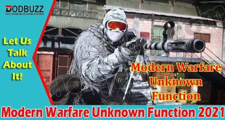 Modern Warfare Unknown Function (June) Problems & Update