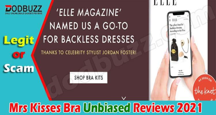 Mrs Kisses Bra Reviews [June] Is This Legit Website
