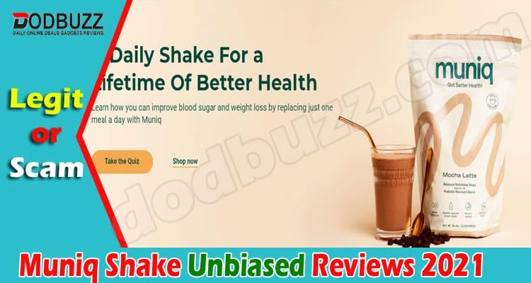 Muniq Shake Reviews 2021