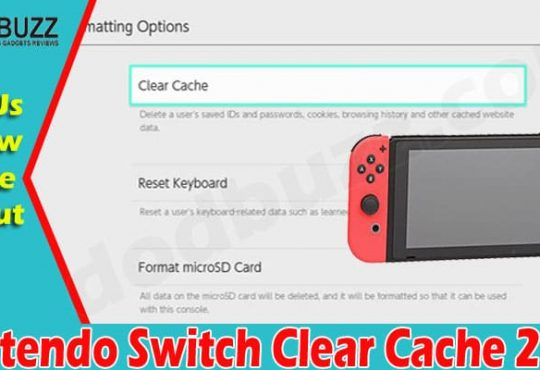 Nintendo Switch Clear Cache 2021.