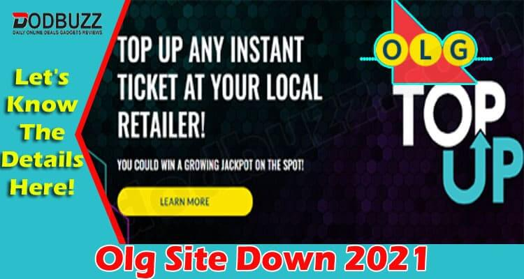 Olg Site Down {June 2021} Read Details Here – An Error!