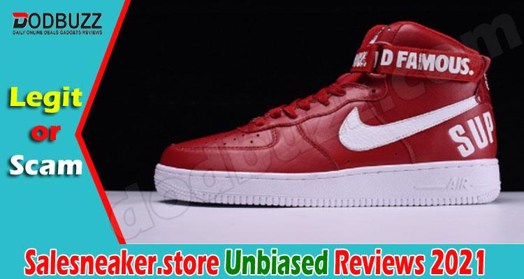 Salesneaker.store Reviews (June) Is This Legit Or Scam