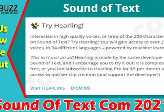 Sound Of Text Com (Jun) What Is This Portal About