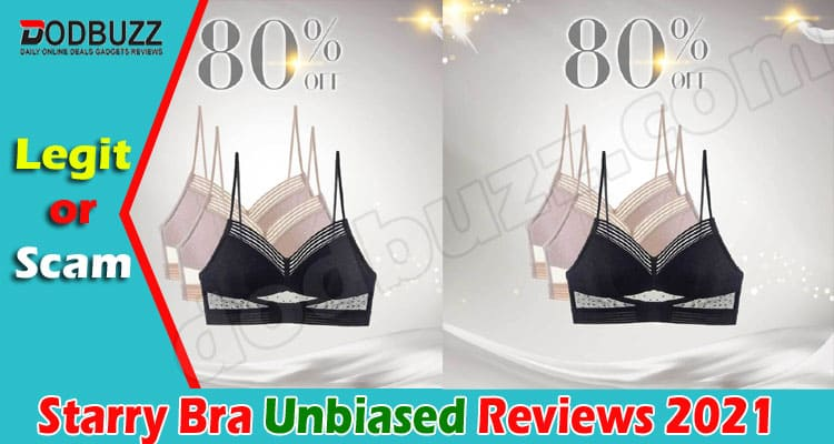 Starry Bra Reviews (June) Is The Product Legit Or Not