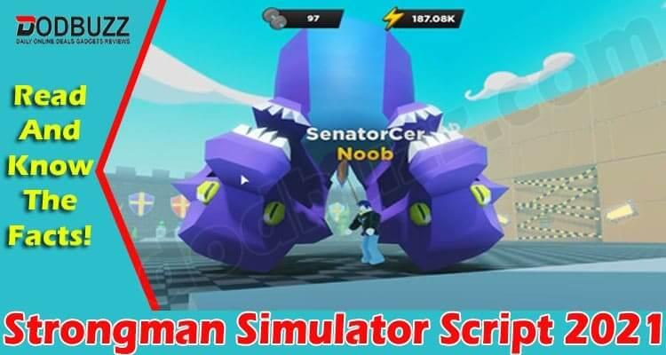 Strongman Simulator Script (June) Check The Detail Here!