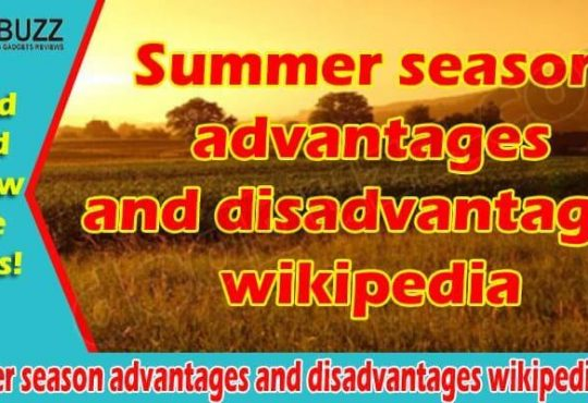 Summer season advantages and disadvantages wikipedia (June)