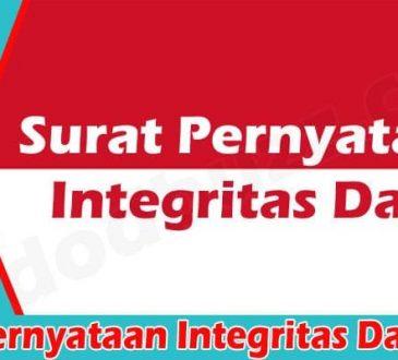 Surat Pernyataan Integritas Data 2021