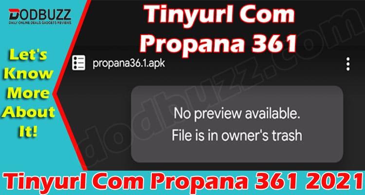 Tinyurl Com Propana 361 2021