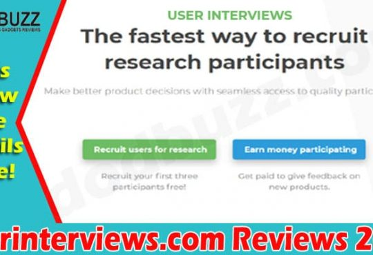 Userinterviews.com Review {Jun} Explore Its Details!