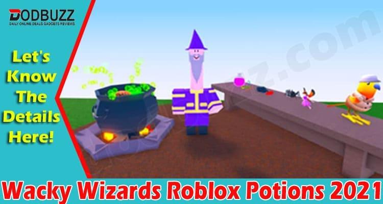 Wacky Wizards Roblox Potions 2021