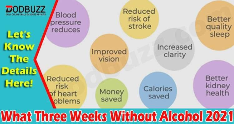 What Three Weeks Without Alcohol (June) Know Benefits!