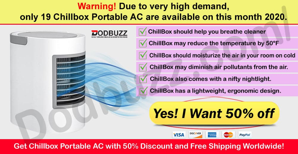Where to buy Chillbox Portable AC