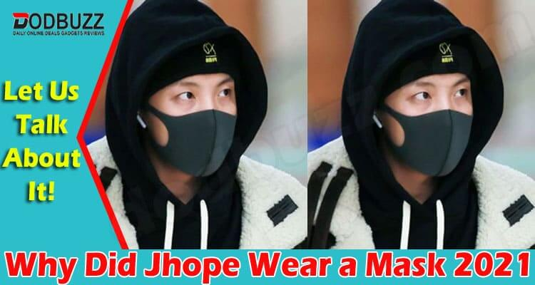 Why Did Jhope Wear A Mask (June) Let Us Know Here!