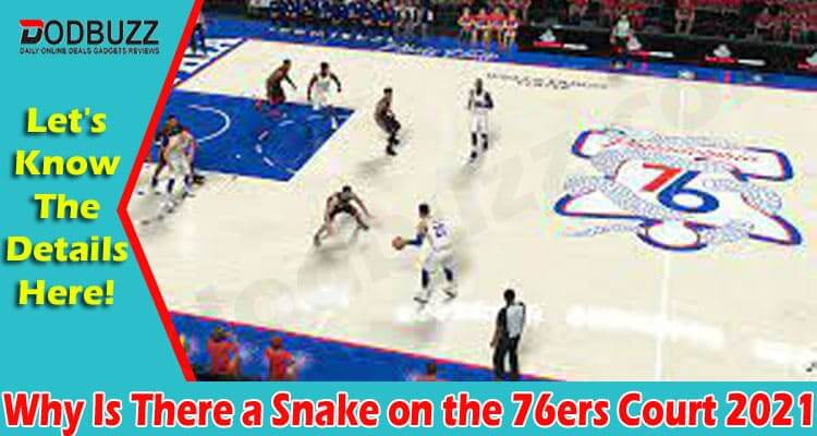 Why Is There a Snake on the 76ers Court 2021