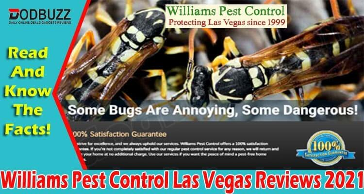 Williams Pest Control Las Vegas Reviews 2021