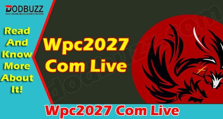 Wpc2027 Com Live 2021
