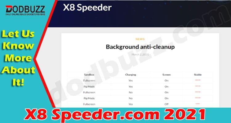 X8 Speeder.com 2021