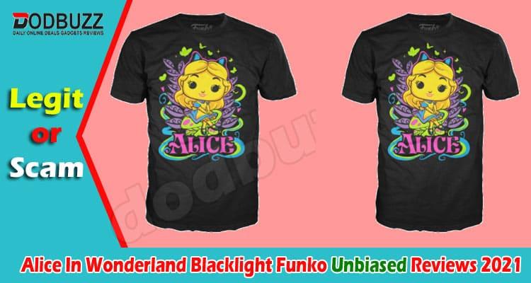 Alice In Wonderland Blacklight Funko Review 2021.