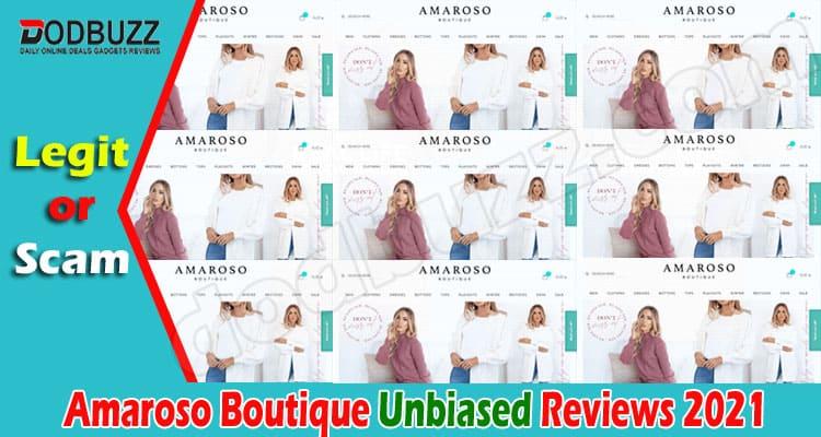 Amaroso Boutique Reviews 2021.