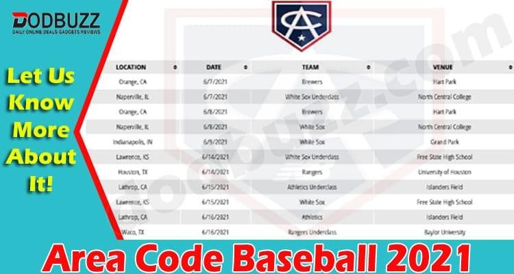 Area Code Baseball 2021
