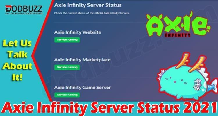 Axie Infinity Server Status 2021
