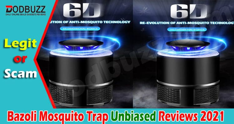 Bazoli Mosquito Trap Reviews 2021.