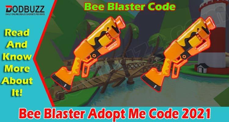 Bee Blaster Adopt Me Code 2021
